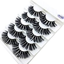 5 pairs Mink Eyelashes 3D False lashes Thick Crisscross Makeup Eyelash Extension Natural Volume Soft Fake Eye,JKX80,5pairs
