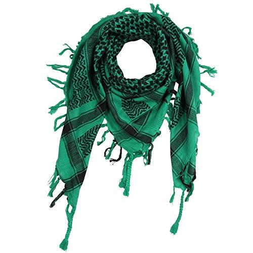 Superfreak Palituch - grün - schwarz 01-100x100 cm - Pali Palästinenser Arafat Tuch - 100{385b527c3488861a12fbadf759d2c8669f069ba5e964b7756c66d06fdb89b49e} Baumwolle