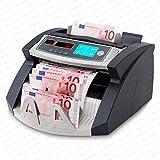 Contabanconote Conta Banconote SR-3750 LCD - UV -MG- IR Securina24® (nero -...