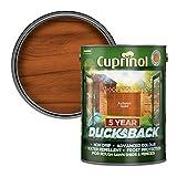Cuprinol - 5L Ducksback 5 Año Impermeable Para Cobertizos Y Vallas - Otoño De Oro