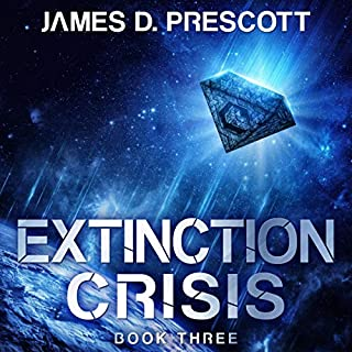 Extinction Crisis audiobook cover art