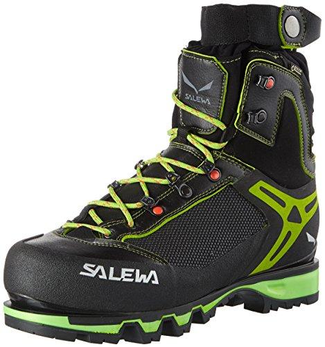 Salewa Herren MS Vultur Vertical Gore-TEX Trekking- & Wanderstiefel, Black/Cactus 0916, 43 EU