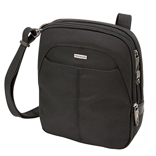 Travelon Anti-Theft Concealed Carry Slim Bag, Black, One Size