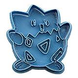 Cuticuter Togepi Pokemon di Biscotti, Blu, 8x 7x 1.5cm