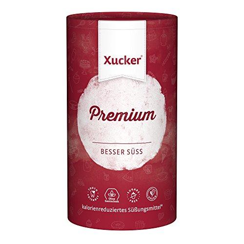 Xucker Premium 1kg kalorienreduzierte Zuckeralternative Xylit - aus Finnland - vegan, glutenfrei, nachhaltig und ohne Zucker