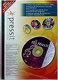 Noname Etichette per CD, Confenzione da 30, Bianco