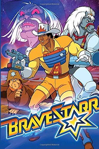 BraveStarr: Gift Notebook For Series Fans To Write On - Lined Notebook - Perfect Gift for Boys & Girls |Notebook/Journal  6x9 - 100 Pages