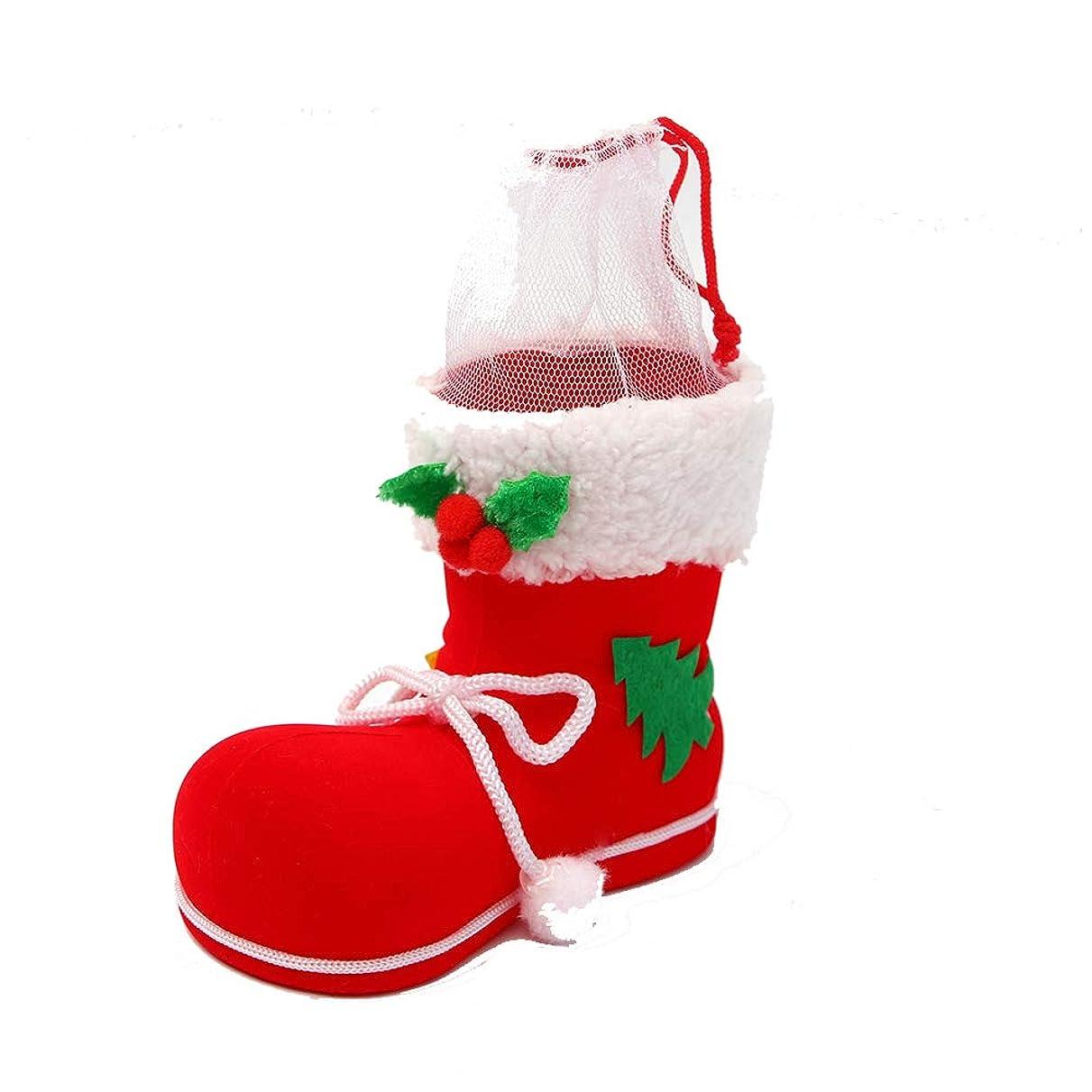 パステル心配するエロチックAmyou クリスマスデコレーションブーツキャンディバッグギフトストッキングスヌックペインのコンテナバッグクリスマススーツの装飾ペンダントの装飾を吊るす