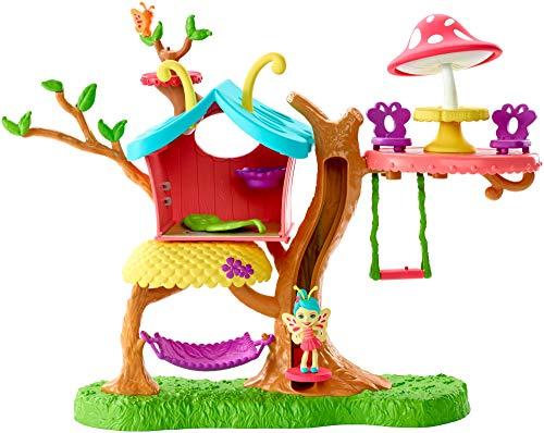 Enchantimals - Casita del arbol Baxi Butterfly, casa de munecas (Mattel GBX08)