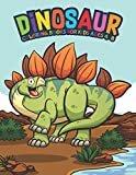 Dinosaur Coloring Books For Kids Ages 4-8: Fantastic Dinosaur Coloring Kids Book with 50 Diplodocus, Tyrannosaurus, Apatosaurus, Mosasaur, ... Boys, Girls Cartoon Dinosaur Colouring Book
