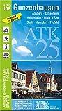 ATK25-I08 Gunzenhausen (Amtliche Topographische Karte 1:25000): Absberg, Dittenheim, Heidenheim, Muhr a.See, Spalt, Haundorf, Pfofeld, Brombachsee, ... Amtliche Topographische Karte 1:25000 Bayern)