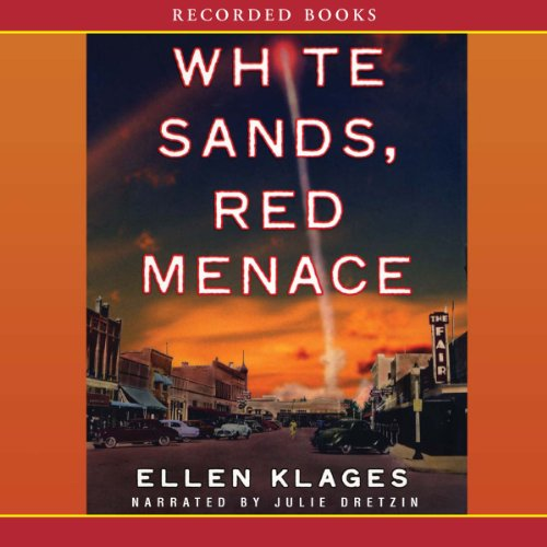 White Sands, Red Menace audiobook cover art