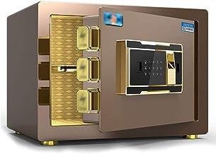 LLRYN Safes 25CM Safes,Safe Box Safe Home Small Fingerprint Password Hotel All Steel Safe Deposit Box Safe Jewelry Cash St...