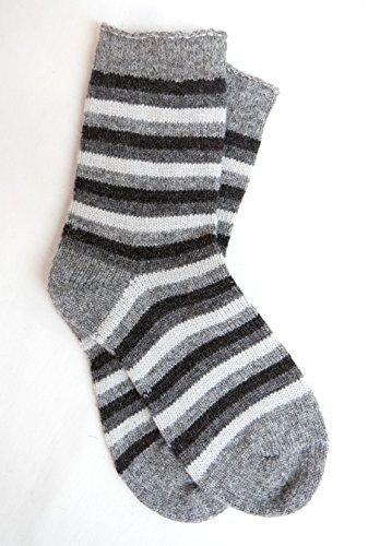 Sankow's Beaver Brook Socken aus Schafwolle, gestreift, Größe M