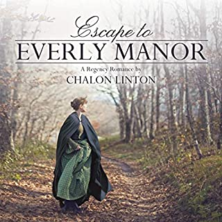 Escape to Everly Manor audiobook cover art