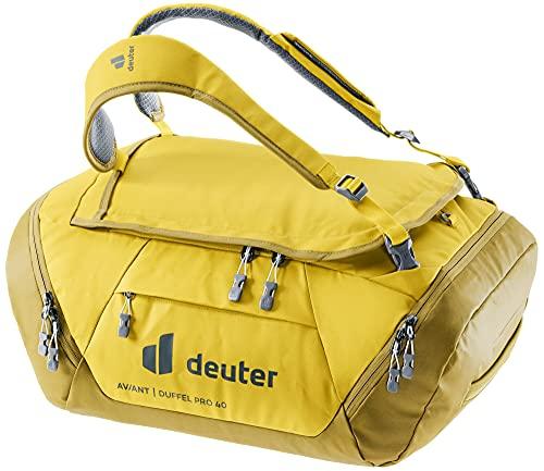 Deuter AViANT Duffel PRO 40, Borsa Sportiva Unisex-Adult, Corn-Turmeric, 40 L
