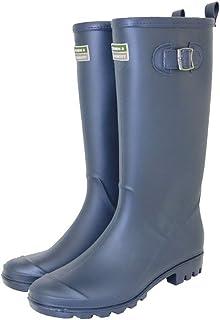 Town & Country Bottes de pluie en caoutchouc pour femme et homme Boucle réglable