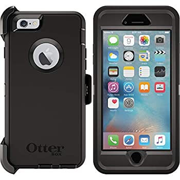 OtterBox DEFENDER SERIES Case & Holster for iPhone 6 / iPhone 6S - Black