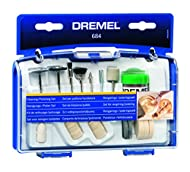 Multi purpose kit with cleaning and polishing accessories and two mandrels for use with rotary tool Suitable for use on metals, such as copper, silver, gold, stainless steel, hardened steel, aluminium, brass, sheet metal, cast iron Can also be used o...