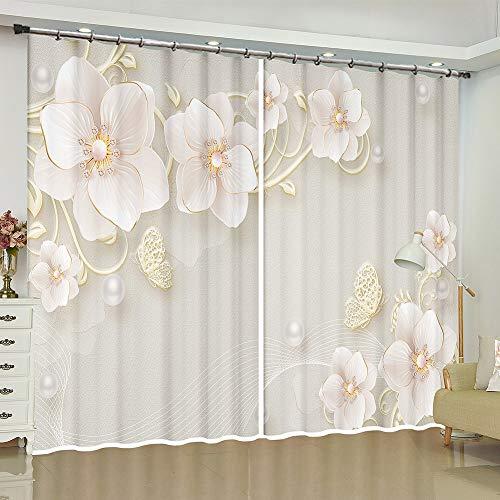 cortinas opacas mariposas