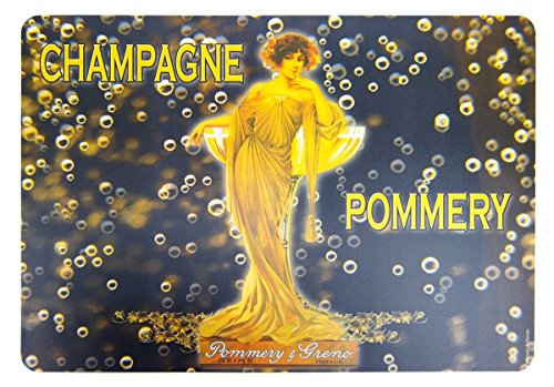 Cartexpo Placemats Set van 4 Champagne Pommery