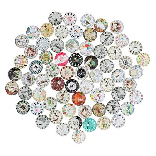dailymall Glas Cabochons Anhänger Charm Dome Fliesen Bild Für Die Juwelenherstellung - 2