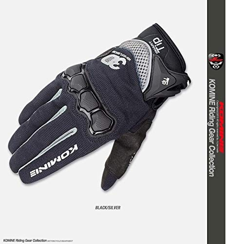 IMmps Sommer Neue Mesh-Technologie Fahrradhandschuhe Motorradrennen Handschuhe Farbe Größe ML XL-T698Gray-L
