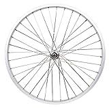 26 Inch Rims & Wheels - Flying Horse Rear Freewheel Silver Heavy Duty 12 Gauge 26 Inch x 1.5 Inch Rim