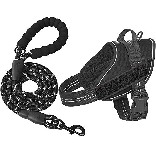 matilor Dog Harness, No Pull Dog Vest Harness Reflective Adjustable for Small Medium Large Dogs with Handle
