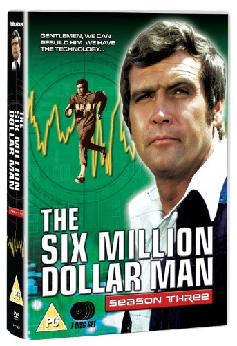The Six Million Dollar Man - Series 3 (7 DVDs)