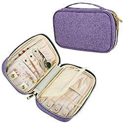 Image of Teamoy Travel Jewelry Case,...: Bestviewsreviews