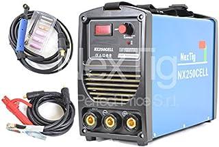 Soldador inverter NX 250 Cell MMA 250 Amp electrodo cellulosico 60% Ed