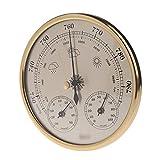 KSUVR Baromètre thermomètre à Domicile hygromètre baromètre Outil Station météo Instrument baromètre Mural