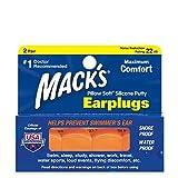 Mack's Pillow Spine ear morbida, calda Orange 2 coppie (pacchetto di 3)