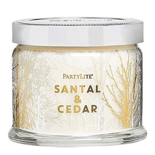 3 Wick Candle Jar: Sandalwood & Cedar