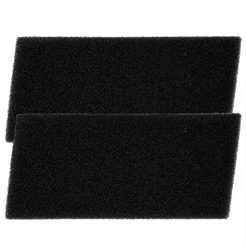 2 Filter für Privileg, Bauknecht, Whirlpool Trockner - HX 481010354757 Trockner Wärmepumpentrockner - 225 x 107 x 10 mm - Schwammfilter Filtermatte Kondenstrockner Schaumstoff Filter