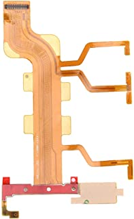 Good Power Button & Volume Button & Microphone Ribbon Flex Cable for Sony Xperia T2 Ultra Dual / XM50h / D5322 Cherrywang