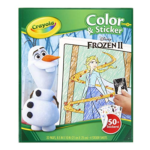 CRAYOLA 04-5864 Disney Frozen 2, Multi
