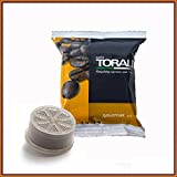 100 capsule Toraldo compatibili Espresso Point Miscela Gourmet