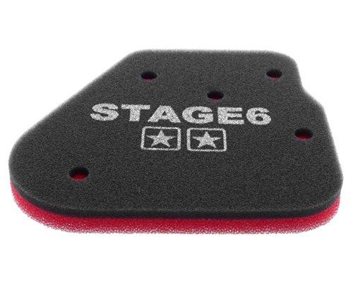 Filtre à air STAGE6 Double Couche utilisation pour Keeway pixels 50, RY6 50, RY8 50 (Evo/Racing/SP)