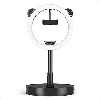 BOINN 10 Inch Licht met Stand en Telefoon Houder, LED Selfie Licht voor YouTube Video Live Stream Make-up Fotografie