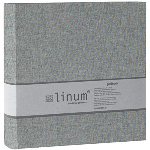 Einsteckalbum 200 F. 10/15 cm Linum grau