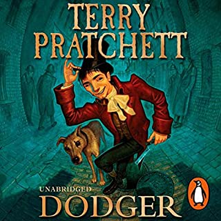Dodger                   By:                                                                                                                                 Terry Pratchett                               Narrated by:                                                                                                                                 Steven Briggs                      Length: 9 hrs and 20 mins     37 ratings     Overall 4.7