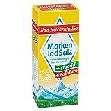 Bad Reichenhaller Marken Jodsalz mit Zusatz von Fluorid und Folsäure 6 x 500 g