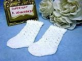 Schildkröt Puppenkleidung für 46 cm Puppen, 1 Paar Handgestrickte Strümpfe