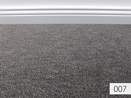 HEVO® Velours Kollektion - Jupiter Verlours Teppichboden in 18 Farben - Inkl. 2% Bestellgutschein - 007