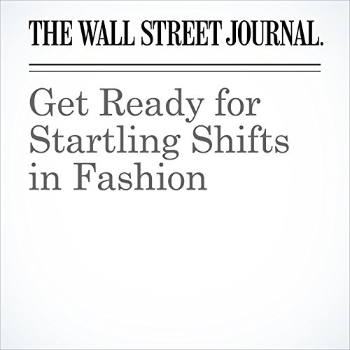 Get Ready for Startling Shifts in Fashion audiobook cover art