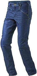 Jet Pantalon Moto Hombre Jeans Kevlar Aramid Con Armadura (52 Regular/Cintura 36