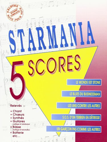 Berger Michel/Plamondon Luc Starmania 5 Scores Book