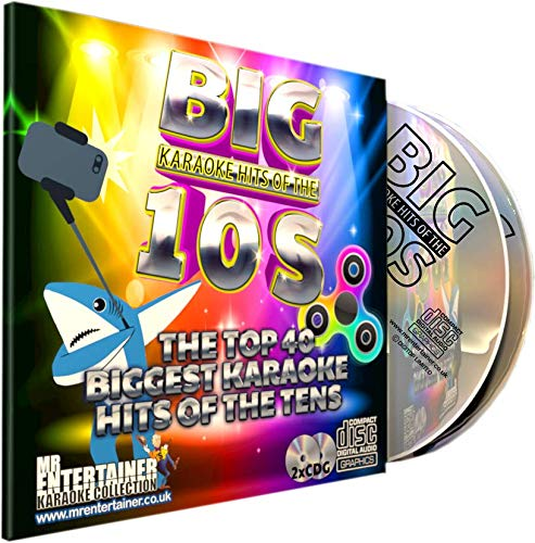 Mr Entertainer Big Karaoke Hits of the 10's (Tens) – Doppel-CD+G (CDG) 40 Poplieder